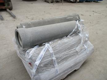 Concrete pipe, 15 pcs. sewer pipes